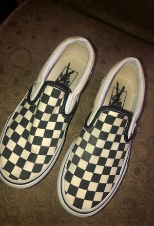 Size 5.5 Checker Vans for Sale in Brookshire, TX
