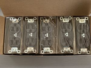 Crouse Hinds Duplex Receptacle 15A 125V 2 Pole 3 Wire Grounding 5252 Qty 10 for Sale in Santa Ana, CA