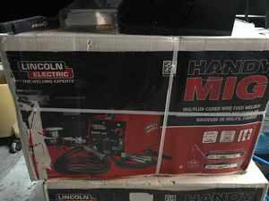 Lincoln Electric MiG Welder 24G New in Box for Sale in Loxahatchee, FL