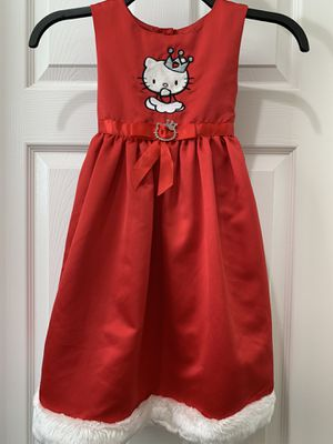 Hello Kitty holiday dress-Size 5 for Sale in Chula Vista, CA