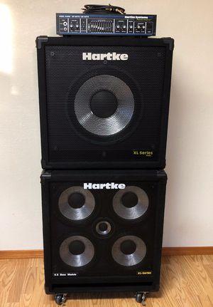 Hartke 500w bass full stack for Sale in Aberdeen, WA