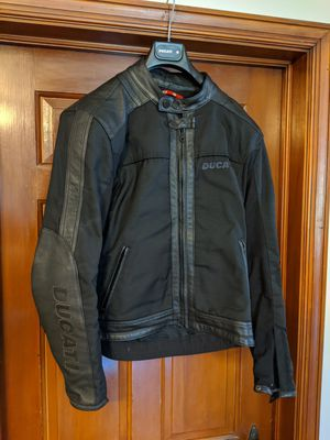 Ducati Leather Mesh Motorcycle Jacket Large for Sale in GRANDVIEW, OH
