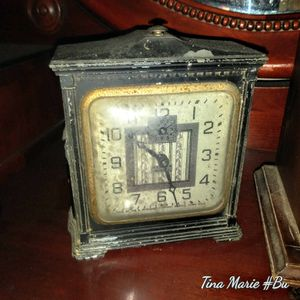 Ingraham clock 1800 to early 1900s black for Sale in Nashville, TN
