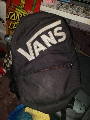 Van's Backpack for Sale in Santa Cruz, CA
