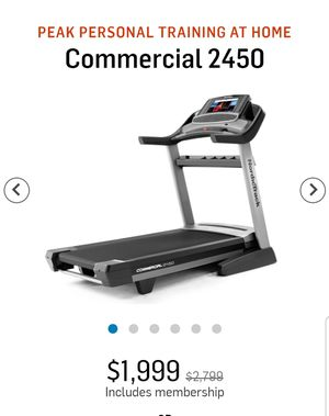 Nordictrack commercial treadmill for Sale in Kent, WA