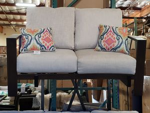 New outdoor patio furniture loveseat tax included delivery available for Sale in Hayward, CA
