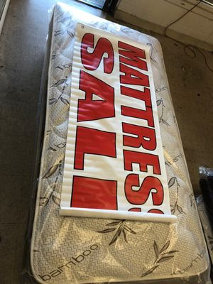 twin mattress with boxspring for Sale in Los Angeles, CA