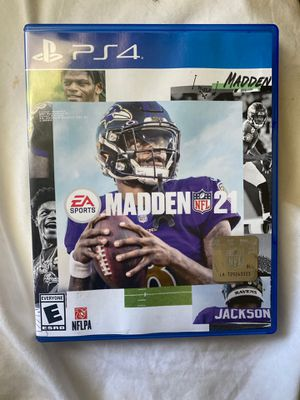 Madden 21 for Sale in Raleigh, NC