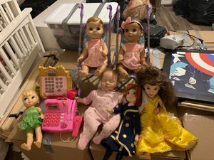 Girl dolls/ toys for Sale in Mesa, AZ
