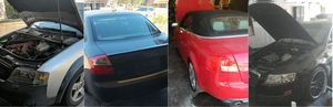 AUDI A4 A6 S4 4.2 3.2 2.0 2003 TO 2011 CAR PARTS C5 C6 B6 B7 READ FIRST BEFORE ASKING FOR PARTS for Sale in Phoenix, AZ