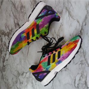 Womens Adidas Tie Dye Flux Torsion Sneakers size 6.5 for Sale in Salinas, CA