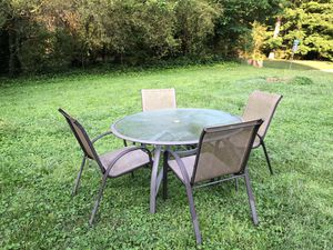 Outside table with chairs for Sale in Roswell, GA