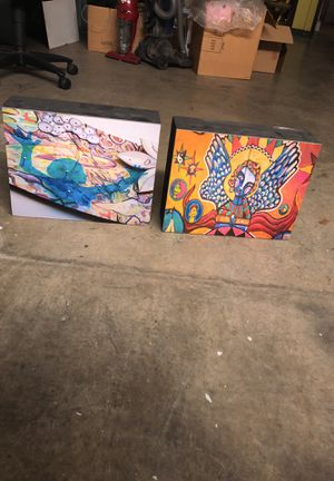 Cubed paintings for Sale in Jacksonville, FL