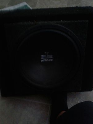 """DB Polk audio 12"""" in nonported box for Sale in North Las Vegas, NV"""