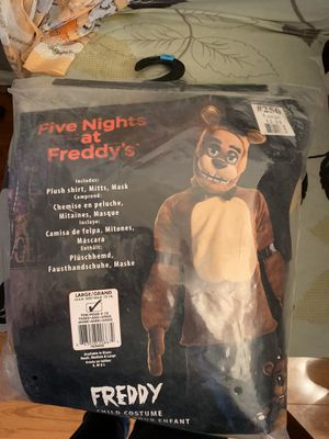 Costume for Halloween five nights for Sale in Yonkers, NY