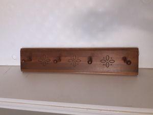 Longaberger Woodcrafts Coat Rack/Peg Board for Sale in Chandler, AZ