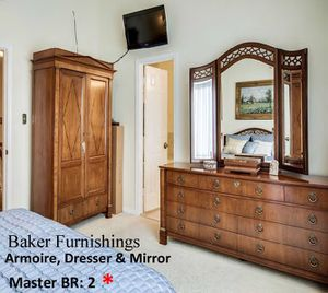 Armoire,dresser & mirror for Sale in Falls Church, VA
