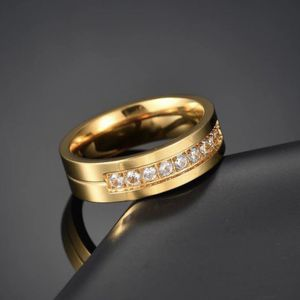 Unisex 18K Gold plated Engagement Ring- Code RI3 for Sale in Miami, FL