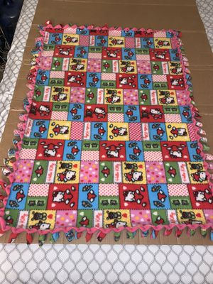 Hello kitty baby blanket for Sale in Temple City, CA