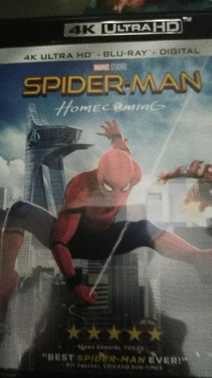 Spider-Man Homecoming 4K Digital Code for Sale in Fall River, MA
