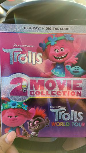 Trolls World Tour- trolls movie collection for Sale in West Covina, CA