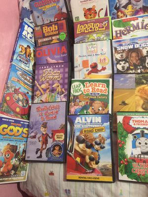 33 DVD kids movies, take all for $20 for Sale in Tampa, FL
