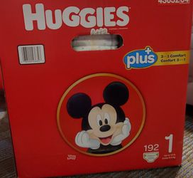 Huggies Little Snugglers Size 1 192 ct for Sale in Damascus,  OR