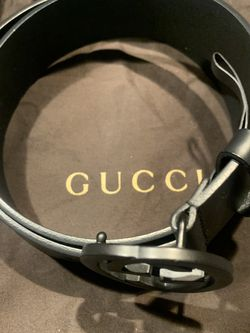 Black Double G Gucci Belt Mint Condition for Sale in Redmond,  WA