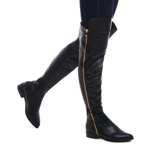 Quilted faux-leather over-the-knee Boots for Sale in Arlington, VA