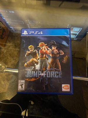 Jump force (PLAYSTATION4) for Sale in La Habra Heights, CA