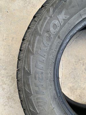 265/65/R17 All Terrain Hankook tires (4) for Sale in Salt Lake City, UT