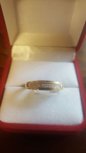Men Solid 10k Diamond ring for Sale in Odenton, MD