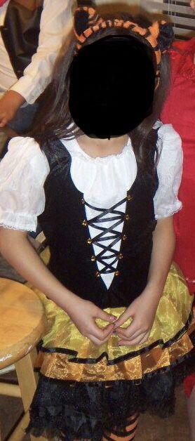 Little Girl Tiger Costume small 5-6 for Sale in West Jordan, UT