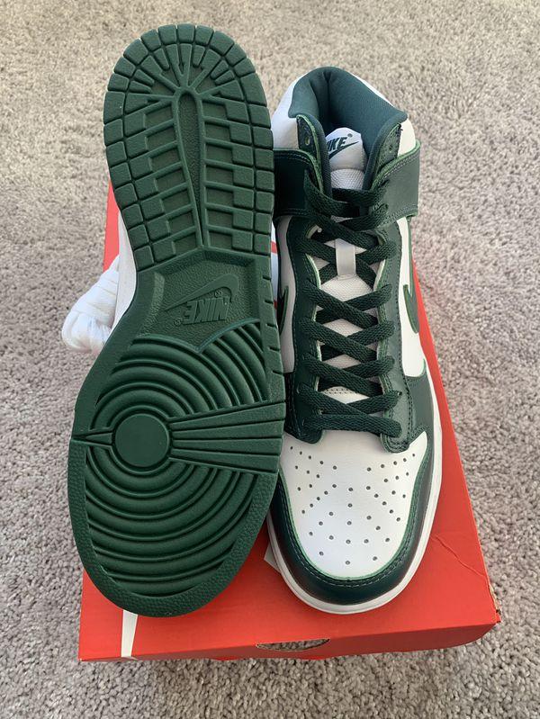 Nike Dunk High Spartan Green Size 11