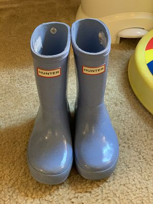 Hunter rain boots glittery size 9 for Sale in Mukilteo, WA