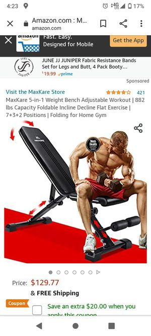 Maxkare exercise equipment for Sale in Fontana, CA