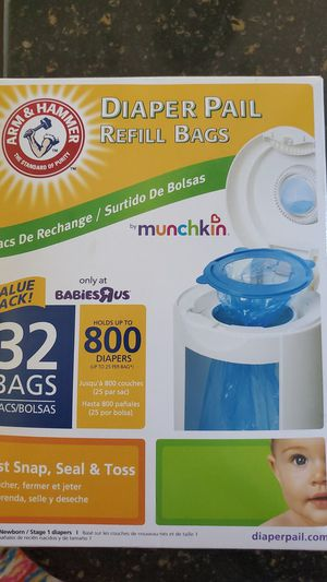 Diaper Pail refill for Sale in Gahanna, OH