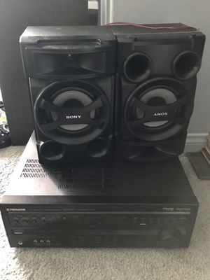 Sony Speakers/Pioneer Receiver for Sale in San Diego, CA