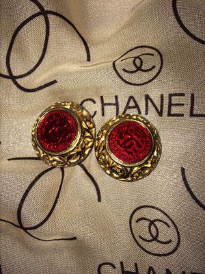 Chanel Clip on Earrings - Chanel by Rubcamell for Sale in Rockville, MD
