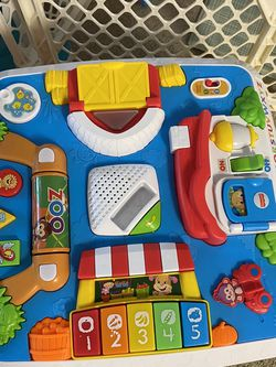 Fisher Price Laugh And Learn Around The Town Brand New Table Only 10$!!! Pickup In Irving for Sale in Irving,  TX