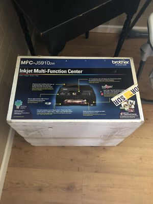 Brother Printer. Model # MFC-J5910DW for Sale in Scottsdale, AZ
