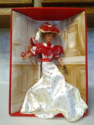 Soda fountain sweetheart collector edition Barbie doll. New in box for Sale in Richardson, TX