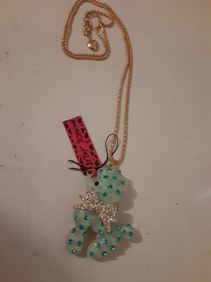 Betsey Johnson Poodle Necklace New W.Tags for Sale in Punta Gorda, FL