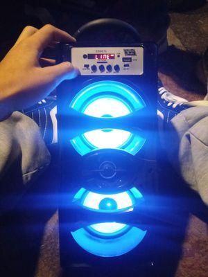 Edge10 top tech audio bluetooth speaker for Sale in Orangevale, CA