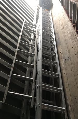 Werner extension ladders 15' 30' 40' for Sale in Lexington, SC