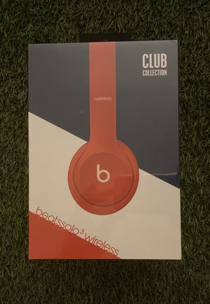 Beats Solo 3 Wireless Club Collection - Club Red for Sale in Long Beach, CA