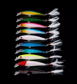 Fishing lures wobbler 10 pack lot for Sale in Gurnee, IL