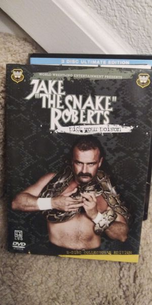 Jake the Snake Roberts DVD for Sale in Littleton, CO