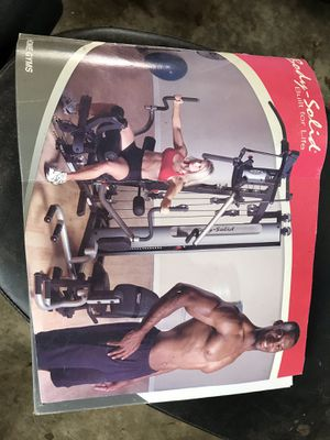 Body Solid home gym for Sale in Brush Prairie, WA