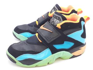 RARE Nike Air Diamond Turf Sneakers US 10.5 Black Gamma Blue Shoes 309434-010 for Sale in Hayward, CA